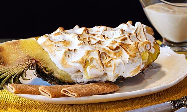 Abacaxi com merengue