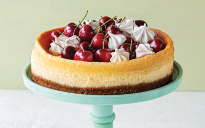 Cheesecake de cerejas