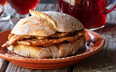 Bifanas no pão