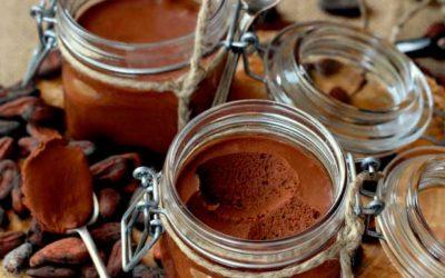 Mousse de Chocolate Só com Água