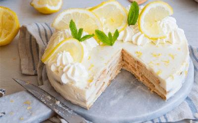 Semifrio de Limão com Leite Condensado