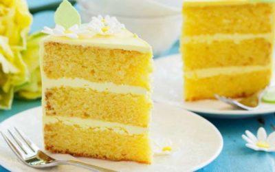 Doce tentação de baunilha e limão