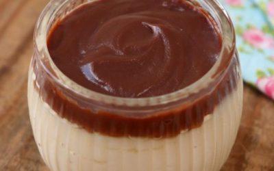 Receita de Doce gelado de coco com chocolate